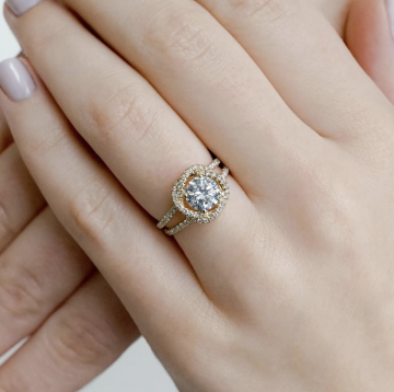 Summer Trend: Floral Inspired Engagement Rings
